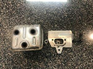 Husqvarna 455 / 460 Jonsered CS2255 Chainsaw Muffler 575743002 / 505416202