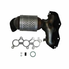Exhaust Manifold with Integrated Catalytic Converter Front Right Cateran 33215