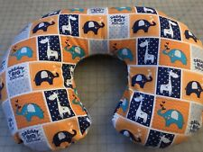 Boppy Pillow Cover Gender Neutral. Elephants & Giraffe Usa Also Take Order