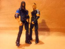 Elite Jeff Matt Hardy Boyz Mattel Proto WWE w Shirts & Roman Reigns Shield Image