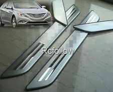Door Scuff Sill Panel Step Plate Guard FIT For HYUNDAI SONATA i45 2011 2012 2013