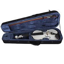Cecilio Acoustic Electric Violin Pearl White Ebony Fitted Cvnae-white