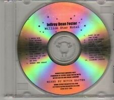 (CD598) Jeffrey Dean Foster, Million Star Hotel  - DJ CD