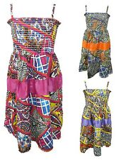 Abstract Patchwork Print Summer Fashion Dress 3 4 5 6 7 8 9 10 11 12 Year