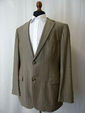Men's HUGO BOSS Bertolucci / Movie Brown Mohair Suit Jacket Blazer 44L BJ244