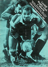 Cardiff v Neath - WRU Cup 4th round  23 Feb 1985 Cardiff RUGBY PROGRAMME