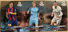 2017-18 Topps Chrome Champions League RARE Promotional Card Lot - De Bruyne