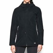 2017 NWT Womens UA Under Armour Ridgely Outdoor Black Jacket S Small sx304
