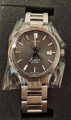 Tag Heuer Carrera Calibre 5 Automatic Watch - WAR211C.BA0782