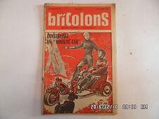 BRICOLONS N°97 9/1955 CONSTRUIRE UN MOUSTIC CAR BANC D'ECOLIER FER A CHEVAL  D44