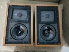 Rogers LS3/5a Gold Badged Stereo Speakers, BBC Edition in VGC