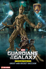 Dragon #38341 1/9 Guardians of the Galaxy Groot with Rocket Raccoon
