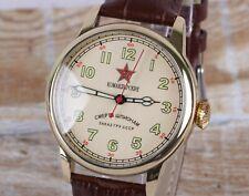 Mens Russian watch RAKETA! Mechanical movement, new strap. Limited edition!