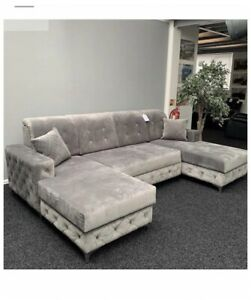 Bespoke Henley Large U Shape Sofa Bed, Colour And Fabric Options Available.