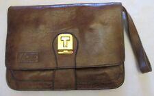 Authentique  sac à main  style sacoche NELLI en cuir BEG  bag vintage