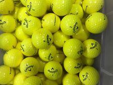 3 Dozen Callaway SuperSoft  Golf Balls - 4A/5A - Yellow