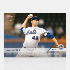 2018 TOPPS NOW #716 JACOB DEGROM 3 R OR FEWER  26 STRAIGHT STARTS SET MLB RECORD
