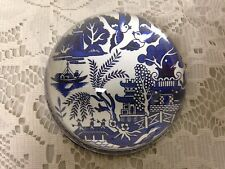 Beautiful, Rare,  3-inch Blue Willow Paper Weight