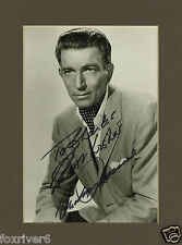 MICHAEL RENNIE Signed Photograph - Film Star Actor - preprint