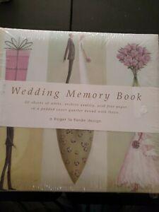 Linen Covered Wedding Memory Album Roger La Borde Design