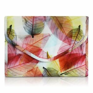TRAVEL JEWELRY ORGANIZER CASE BAG - Multi - color leaves