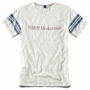 New BMW Motorrad T-Shirt Men's White LG #76898351242