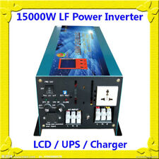 60000W/15000W LF Pure Sine Wave 24VDC/110VAC 60Hz Power Inverter LCD/UPS/Charger