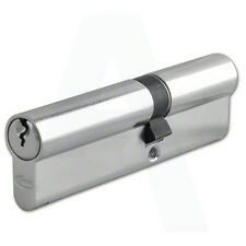Asec(Yale Style) 6 Pin Euro Cylinder Nickel Plated 110mm 45/65 Lock UPVC Door