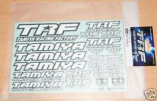 Tamiya 42164 TRF Pegatina C (TRF414/TRF415/TRF416/TRF417/TRF418/TRF419), nuevo en paquete