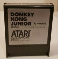 Atari 400/800/XE Donkey Kong Junior Video Game Cartridge RX8040 Untested as seen