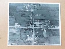8 X 10 Aerial Photos Lordstown, OH S.R. 45 & Carson Salt Spring Rd 1960s