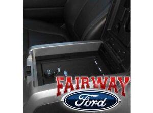 18 thru 21 Expedition OEM Ford Security Vault Gun Safe w/ FLOWTHRU Console NEW