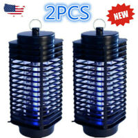 2pack Electric Mosquito Fly Bug Insect Zapper Killer Trap Lamp 110V Stinger Pest
