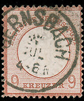 Germany #25a Used CV$400.00