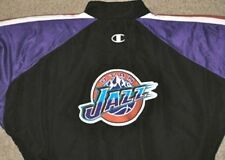 NBA CHAMPION UTAH JAZZ GAME USED JACKET 44 JERSEY UNIFORM J HORNACEK #14