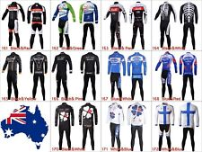 Mens Cycling Jersey Kit Set Sports Outfits Bike Bicycle Clothing Padded Pants