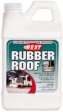 RV Camper Rubber Roof Cleaner Conditioner Weather Sun Protectant 48 oz Bottle