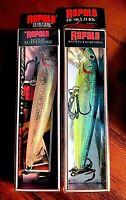 "NEW Vintage Rapala 4"" Rattln' Husky Jerk Fishing Lure ( Choice of One Lure )"