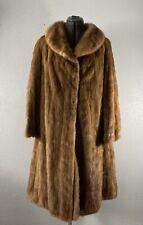 VIntage Holt Renfrew Women's Fur Coat Sable Colored Mink
