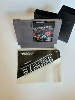 Gyruss Nintendo NES VIDEO GAME WITH MANUAL VINTAGE 80'S WOW