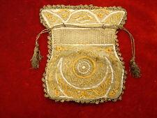 Antique Victorian Handcrafted North African Handbag Purse (Circa 1910)