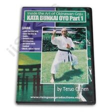 Okinawan Goju Ryu Karate Kata Bunkai Oyo #1 Dvd Teruo Chinen Miyagi Chogun rare