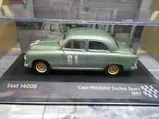 SEAT 1400B 1400 B ( fiat ) Rallye Racing #61 1957 Copa Sport IXO Altaya SP 1:43
