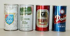 New ListingLot of 4 Beer Cans Empty Heileman's, Old Bohemian Cream Ale, Tecate, Point