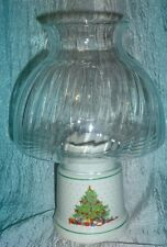 "New Beautiful Usa Christmas Tree Candle Lamp Holder Hometrends 10.5"" Tall w/Box"