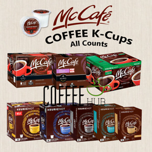 McCafe Coffee Pods K-Cups 18 36 72 100 108 Count Capsules lot KEURIG ALL FLAVORS