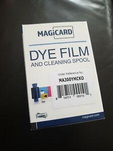 Magicard Dye Film and Cleaning Spool Ribbon MA300YMCKO