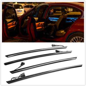 Car Ambient Light LED Interior Panel Door Atmosphere Decor Black For BMW 3 F30