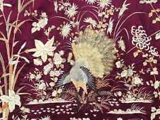 An Excellent Rare and Large Chinese Qing Dynasty Silk Embroidered Coverlet.