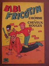 BIBI FRICOTIN ET L'HOMME AUX CHEVEUX ROUGES  (1962)